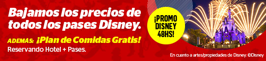 Promo Disney por Avantrip