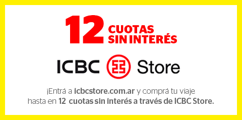 12 cuotas sin interes ICBC Store
